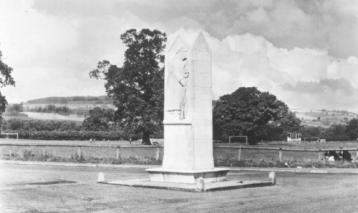 Chirk War Memorial Source: Eric Gill 1919
