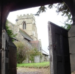 St Lucia church Upton Magna
