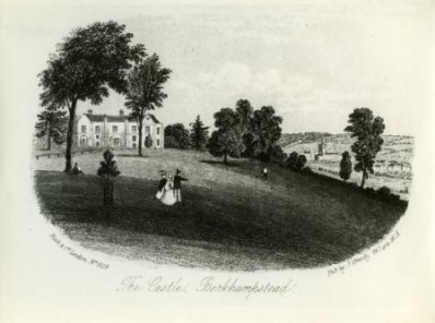 Berkhamsted Place or Castle_1856