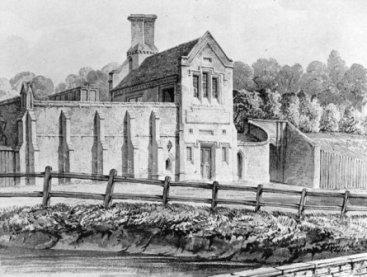 Railway station_1837_Buckler